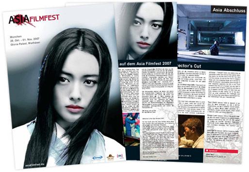 Asia Filmfest München 2007: Programmheft als pdf