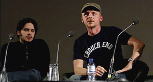 Edgar Wright und Simon Pegg | Source: http://film.guardian.co.uk