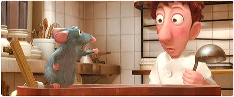 Ratatouille: I think I smell a rat